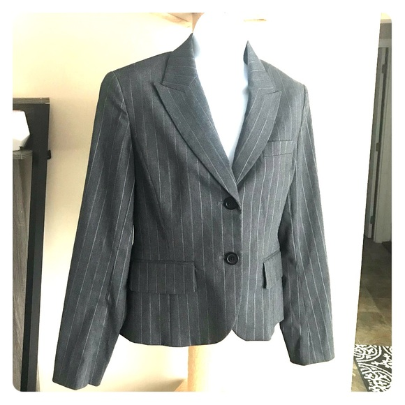 fdf01187b601 Michael Kors Jackets & Coats   Womens Blazer Jacket Grey Size 4 ...